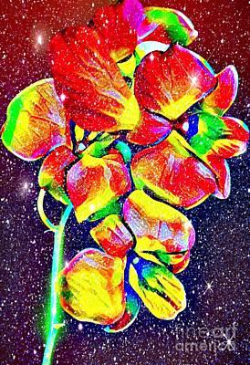 Digital Art - Sparkling Flower by Gayle Price Thomas