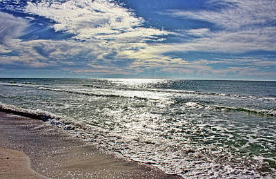 Photograph - Sparkling Gulf Waters by HH Photography of Florida
