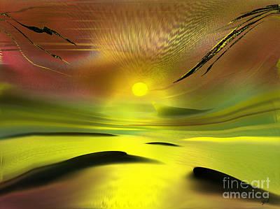 Digital Art - Sparkling In The Sand by Yul Olaivar