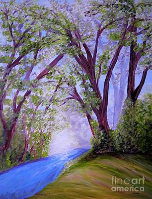 Painting - Sparkling River by Eloise Schneider