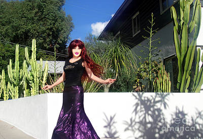 Sparkling Skirt. Ameynra Fashion Art Print