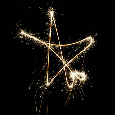 Photograph - Sparkling Star by Helen Northcott