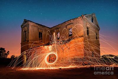 Photograph - Sparks by Hernan Bua
