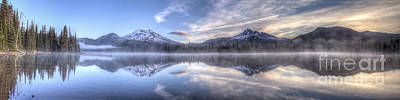 Sparks Lake Splendor Art Print by Twenty Two North Photography