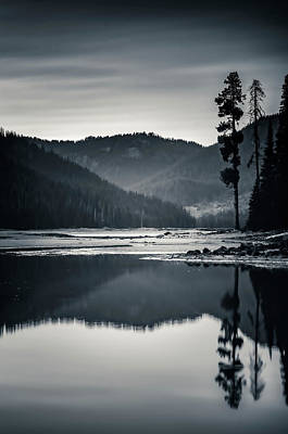 Photograph - Sparks Lake Stillness by Don Schwartz