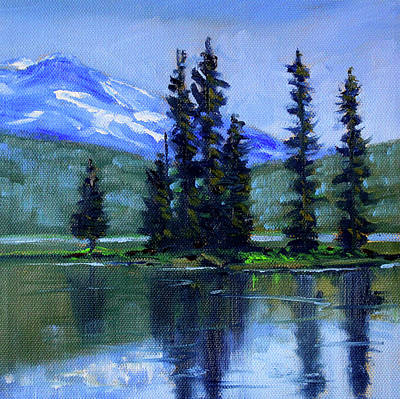 Painting - Sparks Lake View by Nancy Merkle