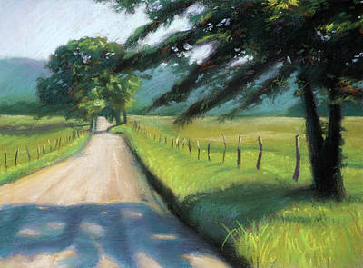 Pastel Painting - Sparks Lane by Christopher Reid