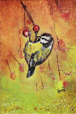 Painting - Sparrow - Bird by Remy Francis