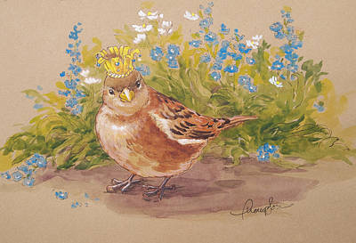 Sparrow Queen Original by Tracie Thompson