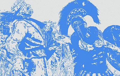 Digital Art - Spartan Warrior by Andrea Mazzocchetti