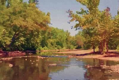 Spavinaw Creek Art Print