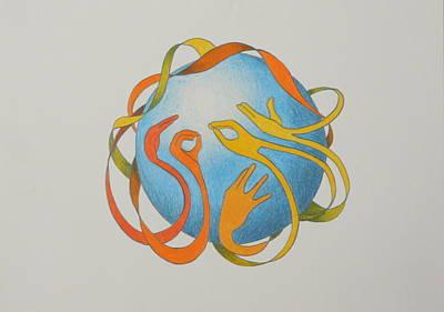 Drawing - Speak by Michelle Miron-Rebbe