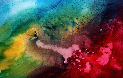 Drip Painting - Speak To Me By Madart by Megan Duncanson