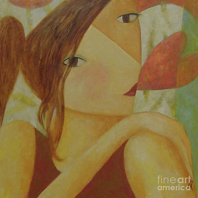 Speak With Your Heart Art Print by Glenn Quist