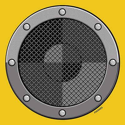 Digital Art - Speaker by Ron Magnes