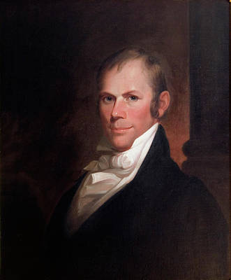 Painting - Speakers Of The United States House Of Representatives, Henry Clay, Kentucky  by Matthew Harris Jouett
