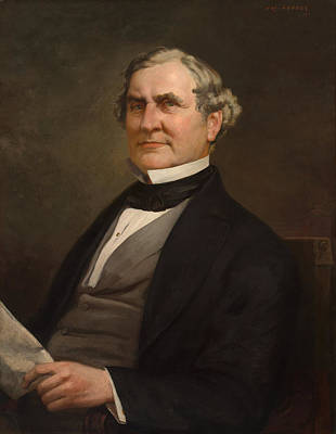 Painting - Speakers Of The United States House Of Representatives, William Pennington, New Jersey  by Joseph Laube