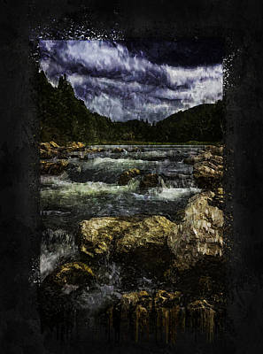 Photograph - Spearfish Canyon Rapids by Ray Van Gundy