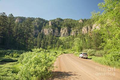 Nikki Vig Royalty-Free and Rights-Managed Images - Spearfish Canyon South Dakota by Nikki Vig