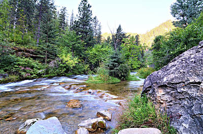 Photograph - Spearfish Creek 2 by Bonfire Photography