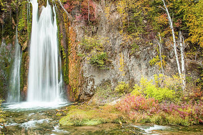 Photograph - Spearfish Falls by Steven Bateson