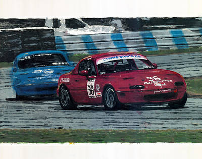 Spec Miata 1 Art Print by James Haas