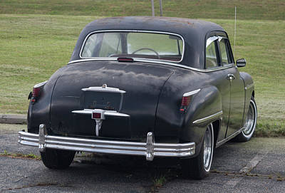 Photograph - 1948 Special Deluxe Plymouth Rear View by Suzanne Gaff