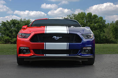 Photograph - Special Edition 2016 Ford Mustang by Tim McCullough