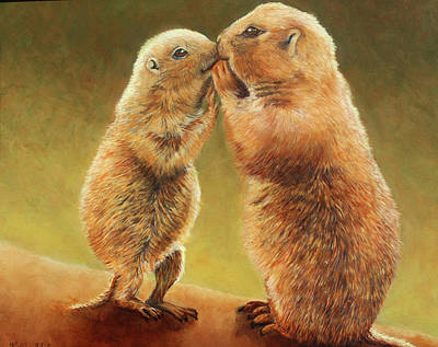 Painting - Special Friends by Kelly Pedersen