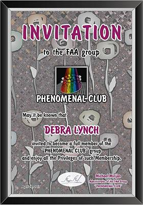 Special Invitation To Phenomenal-club Art Print