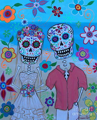 Special Mexican Wedding Art Print by Pristine Cartera Turkus