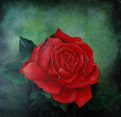 Commission Work Drawing - Special Rose by Deepak Deshmukh