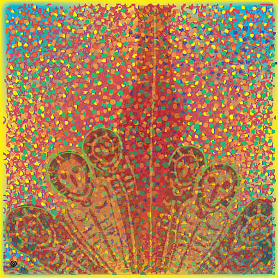 Painting - Speckle Ghosts by Gary Grayson