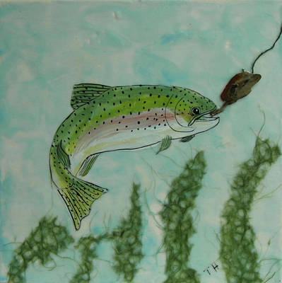 Painting - Speckled by Terry Honstead