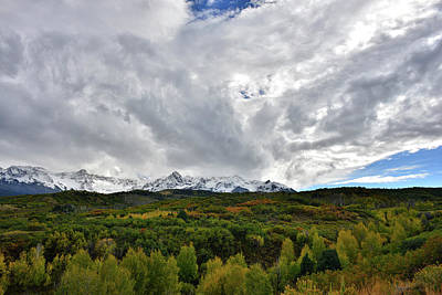 Photograph - Spectacular Clouds Over Dallas Divide by Ray Mathis