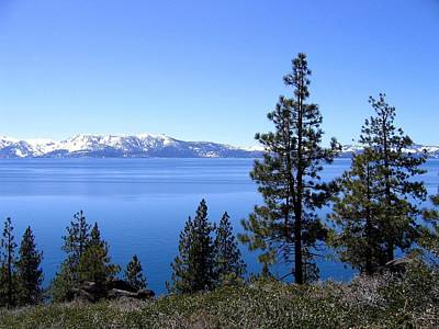Photograph - Spectacular Lake Tahoe by Will Borden