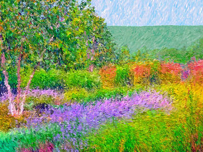 Art Print featuring the digital art Spectacular May At The Stonewall Resort by Digital Photographic Arts