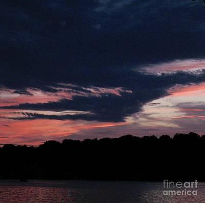 Photograph - Spectacular Sunset by Glenda Zuckerman
