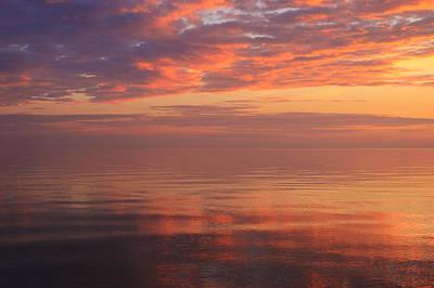 Cloud Like Glass Photograph - Spectacular Sunset by Rachel Cohen