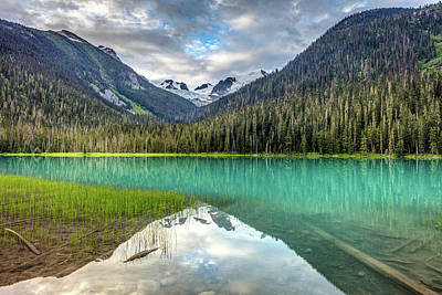 Photograph - Spectacular Turquoise Lake by Pierre Leclerc Photography