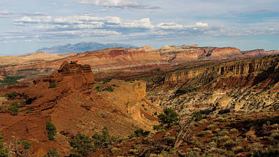 Photograph - Spectacular Valley Capitol Reef National Park Utah by Lawrence S Richardson Jr