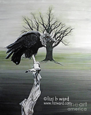Painting - Spectator by Lizi Beard-Ward