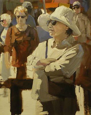 Spectators Art Print by David Simons