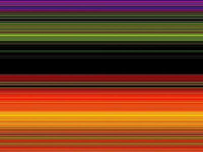 Spectra 0145 Art Print by Chuck Landskroner