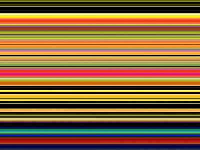 Spectra 10130 Art Print by Chuck Landskroner