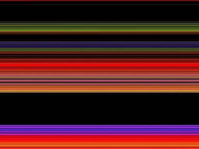 Spectra 10145 Art Print by Chuck Landskroner