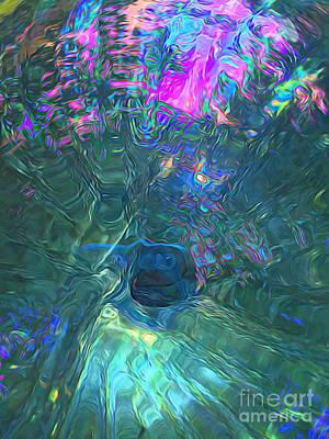 Spectral Sphere Art Print