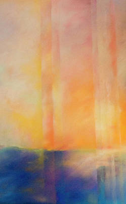 Pastel - Spectral Sunset by Barbara Jacobs