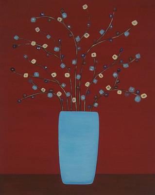 Spectrum Of Foliage Art Print by Sandy Bostelman
