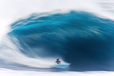 Surfing Photograph - Speed Bowl by Sean Davey
